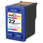 HP #22 (C9352AN) Tri-Color Ink Cartridge (Remanufactured)