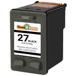 HP #27 (C8727AN) Black Ink Cartridge (Remanufactured)