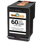 HP #60XL (CC641WN) High Yield Black Ink Cartridge (Remanufactured)