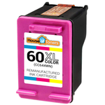 HP #60XL (CC644WN) High Yield Tri-Color Ink Cartridge (Remanufactured)