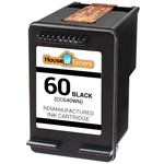 HP #60 (CC640WN) Black Ink Cartridge (Remanufactured)