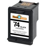HP #74 (CB335W) Black Ink Cartridge (Remanufactured)