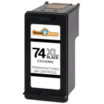 HP #74XL (CB336W) High Yield Black Ink Cartridge (Remanufactured)
