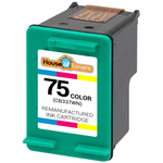 P #75 (CB337W) Tri-Color Ink Cartridge (Remanufactured)