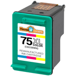 HP #75XL (CB338W) High Yield Tri-Color Ink Cartridge (Remanufactured)