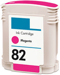 HP #82 (C4912A) Magenta Ink Cartridge (Remanufactured)