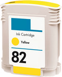 HP #82 (C4913A) Yellow Ink Cartridge (Remanufactured)