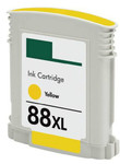 HP #88XL (C9393AN) High Yield Yellow Ink Cartridge (Remanufactured)