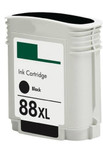 HP #88XL (C9396AN) High Yield Black Ink Cartridge (Remanufactured)