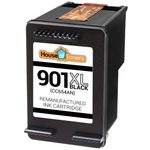 HP #901XL (CC654AN) Black Ink Cartridge (Remanufactured)