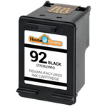 HP #92 (C9362WN) Black Ink Cartridge (Remanufactured)