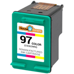 HP #97 (C9363WN) Tri-Color Ink Cartridge (Remanufactured)