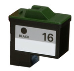 Lexmark #16 (10N0016) Black Ink Cartridge (Remanufactured)