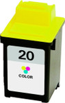 Lexmark #20 (15M0120) Color Ink Cartridge (Remanufactured)