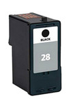 Lexmark #28 (18C1428) Black Ink Cartridge (Remanufactured)