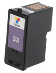 Lexmark #33 (18C0033) Color Ink Cartridge (Remanufactured)