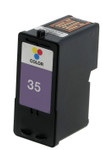 Lexmark #35 (18C0035) High Yield Color Ink Cartridge (Remanufactured)