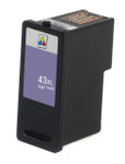 Lexmark #43XL (18Y0143) High Yield Color Ink Cartridge (Remanufactured)