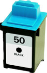 Lexmark #50 (17G0050) Black Ink Cartridge (Remanufactured)
