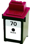Lexmark #70 (12A1970) Black Ink Cartridge (Remanufactured)