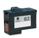 Lexmark #82 (18L0032) Black Ink Cartridge (Remanufactured)
