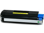 Okidata 42127401 High Yield Yellow Laser Toner Cartridge (Remanufactured)