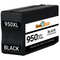 HP #950XL (CN045AN) High Yield Black Ink Cartridge (Remanufactured) - Shows Accurate Ink Levels