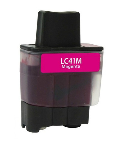 Brother LC-41 (LC41M) Magenta Ink Cartridge (Compatible)