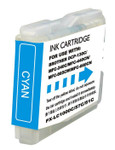 Brother LC-51 (LC51C) Cyan Ink Cartridge (Compatible)