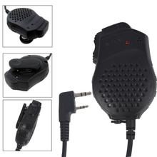 Original Baofeng Dual PTT Keys Two Way Radio Speaker Mic for UV-82 UV-82L GT-5