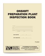 APC S-5005-P: Onshift Preparation Plant Inspection Book