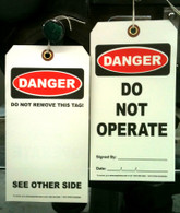 """APC 20082964: """"Do Not Operate"""" Tag"""