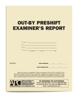 APC 53731: Out-by Preshift Examiner's Report