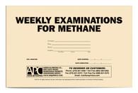 APC 20087839: Weekly Examinations for Methane