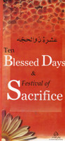 Ten Blessed Days & Festival Of Sacrifice Informative Pamphlet