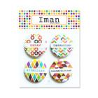 Iman Rainbow Magnet