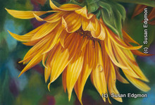 10.75 x 14.375 Nature's Bounty S519-4/500 Original Painting in Pastel Print by Susan Edgmon