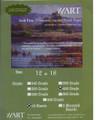 UART 800 grit 12x18 Sanded Paper 10pack
