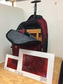 IAPS Sale Pack # 5  includes  E1G Backpack easel box, rolling backpack, nylon shoulder strap  and 2  value finders