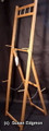 E12 Oak Display Easel