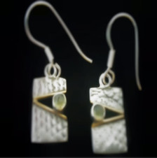 Matching earrings available on website.