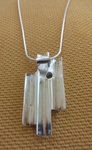 Reverse view of Giants Causeway Necklace.