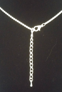 Irish Blessing Necklace Mobius Shape Lobster Clasp.