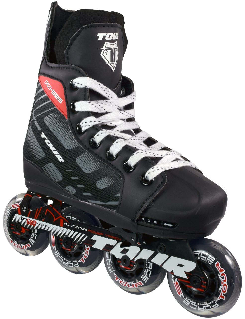 Tour Fishbone 225 Youth Adjustable Roller Hockey Skates