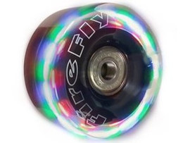 Fire-Fly Light-Up Wheels with Bearings (4-pack)