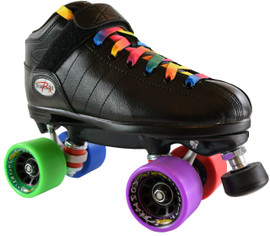 Riedell R3 Rainbow Speed Roller Skates
