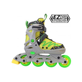 Lemon Twist Adjustable Inline Skates