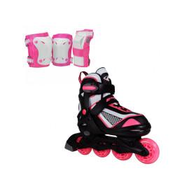 Lenexa Venus Adjustable Inline Skates Combo