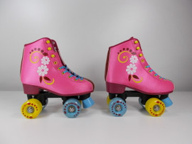 **SLIGHTLY USED** #uGOgrl Quad Roller Skate Pink Size 4