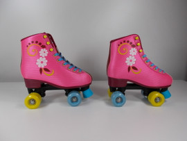 **SLIGHTLY USED** #uGOgrl Demo Quad Roller Skate Size 7